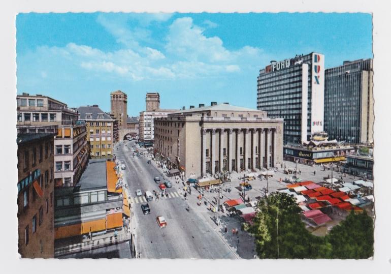 Postcard front of stockholm