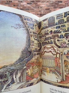 Photo of illustration of The Secret Staircase in the Brambly Hedge Treasury